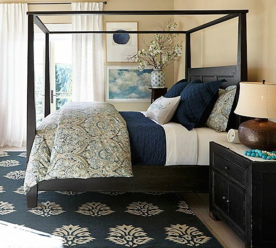 Favorite Blue Rooms With Bold Color Part 2 Patterson Decorating Group Drapes And Design Blog