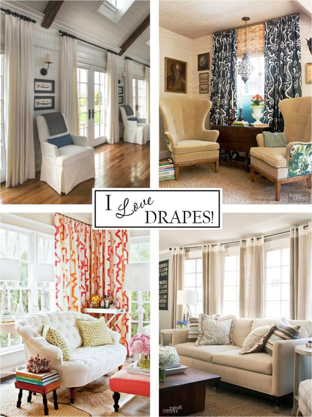 I love Drapes www.PattersonDecoratingGroup.com/blog