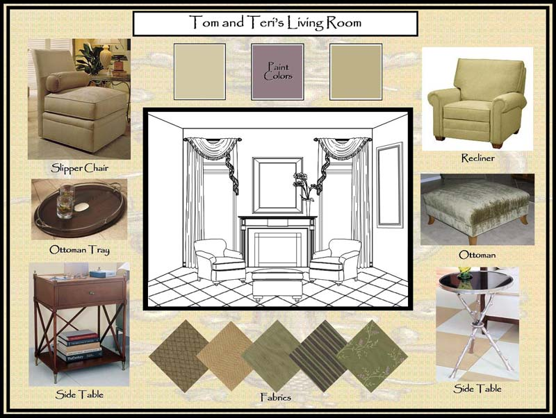 Living Areas Patterson Decorating Group Portfolio